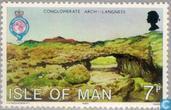 Postzegels - Man - Geografisch genootschap 1830-1980