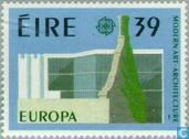 Timbres-poste - Irlande - Europe – Architecture moderne