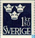 Postage Stamps - Sweden [SWE] - 3 crowns