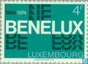 Postage Stamps - Luxembourg - BENELUX 30 years