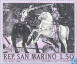 Timbres-poste - Saint-Marin - Paolo Uccello