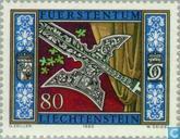 Postzegels - Liechtenstein - Heraldiek
