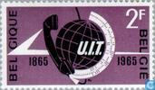 Postage Stamps - Belgium [BEL] - 100 years of ITU