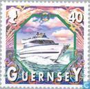 Postzegels - Guernsey - Schepen