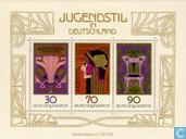 Postage Stamps - Germany, Federal Republic [DEU] - Jugendstil