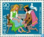 Postage Stamps - Switzerland [CHE] - fairy tales
