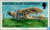 Briefmarken - Guernsey - Air Mail Service
