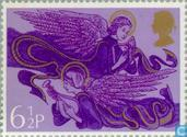 Postage Stamps - Great Britain [GBR] - Christmas - Musician Angels