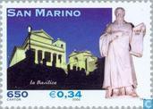 Postzegels - San Marino - Religieuze kunst