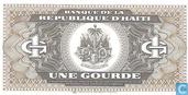 Billets de banque - Banque Centrale de la Republique d 'Haiti - 1 Gourde haïtienne
