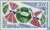 Postage Stamps - France [FRA] - 100 years of UPU