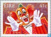 Briefmarken - Irland - Europa – Das Zirkus