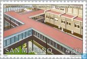 Postzegels - San Marino - Sociale Verzekeringsbank