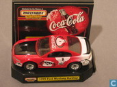 Modelauto's  - Matchbox - Ford Mustang Hardtop 'Coca-Cola'