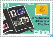 Postage Stamps - Spain [ESP] - 50 years Philatelic Service of Post