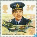Postage Stamps - Great Britain [GBR] - 50 years Royal Air Force