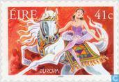 Postzegels - Ierland - Europa – Het circus