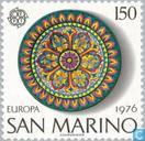 Postzegels - San Marino - Europa – Ambachten