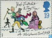 Postage Stamps - Great Britain [GBR] - Christmas - Charles Dickens