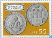 Briefmarken - San Marino - Münzen