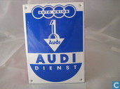 Emaille Bord : Audi