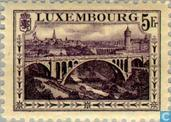 Timbres-poste - Luxembourg - Paysages
