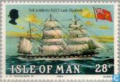 Postage Stamps - Man - Sailing