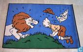 Tapijt : Tintin au Congo