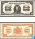 Banknotes - Muntbiljet 1943 - 100 guilder Netherlands 1943
