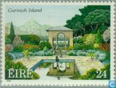 Briefmarken - Irland - Gärten und Parks