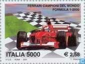 Postage Stamps - Italy [ITA] - Ferrari Formula 1 world champion