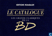 Le catalogue les grands classiques de la bd