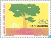 Timbres-poste - Saint-Marin - SIDA