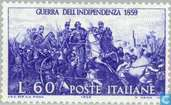 Postzegels - Italië [ITA] - Verenigingsoorlog