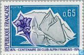 Postage Stamps - France [FRA] - Alpine Club 100 years