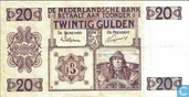 Banknotes - Paintings Nederland - 20 guilder Netherlands 1926