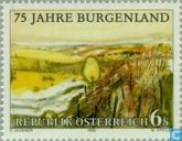Timbres-poste - Autriche [AUT] - Burgenland 75 années