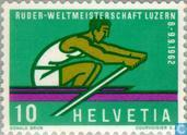 Postage Stamps - Switzerland [CHE] - Lucerne World Cup rowing