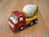 Modelauto's  - Tonka - Tiny Tonka red and yellow cementmixer