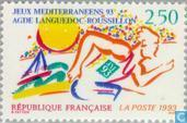 Postage Stamps - France [FRA] - Mediterranean games