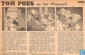 Strips - Bommel en Tom Poes - Tom Poes en het Wegwerk