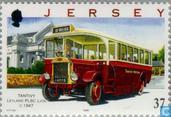 Postzegels - Jersey - Autobussen