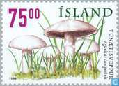 Postage Stamps - Iceland - Mushrooms