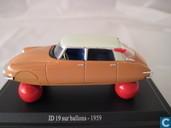 Modellautos - Vitesse - Citroën ID 19 'Op ballonnen'