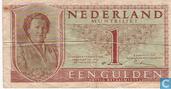 1 guilder Netherlands 1949