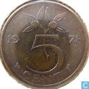 Coins - the Netherlands - Netherlands 5 cents 1978