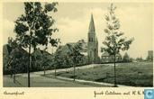 Cartes postales - Amersfoort - Amersfoort - Jacob Catslaan met R.K. kerk