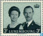Postzegels - Luxemburg - Groothertog Jean- Aantreden