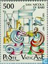 Postage Stamps - Vatican City - Relics of St. Nicholas