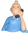 Bust: Tintin phone